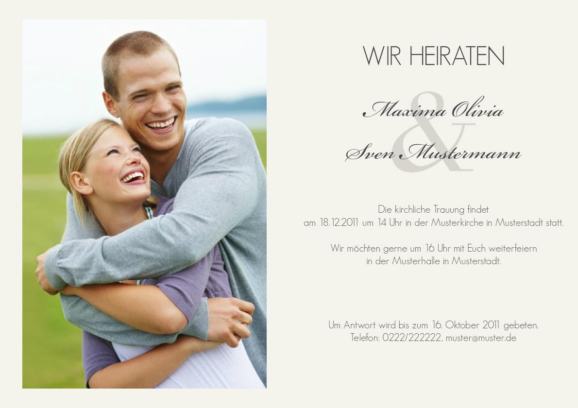 Einladung Hochzeit Tree Tale - Einladung Hochzeit - Zur Hochzeit ...