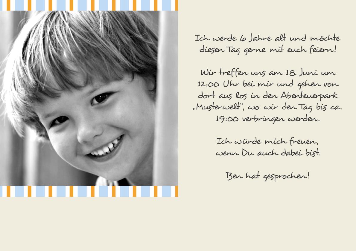 ... Produkt Ist Noch Nicht Für Mobile Geräte Verfügbar. Bitte Klicken Sie  Hier Um Weitere Produkte In Dieser Kategorie Zu Sehen.: Einladung  Kindergeburtstag