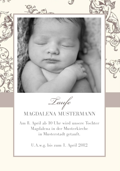 taufe einladungskarte 2 – needyounow, Einladung