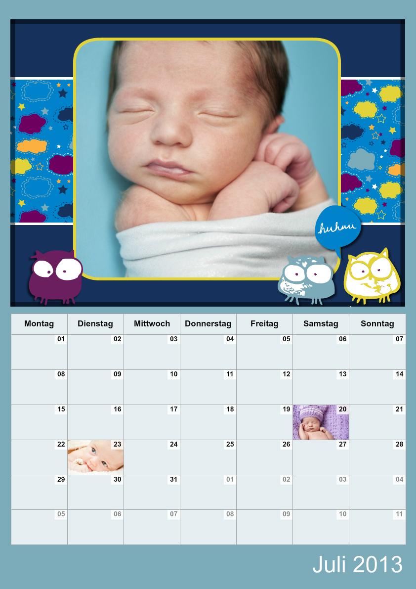 Fotokalender Goodnight - Baby Designs | FamBooks.net