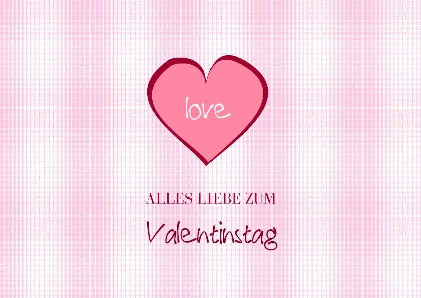 Karte Zum Valentinstag Valentina 2