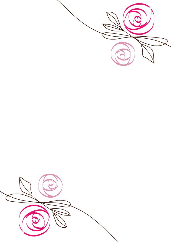 kirchenheft hochzeit flower pink. Black Bedroom Furniture Sets. Home Design Ideas