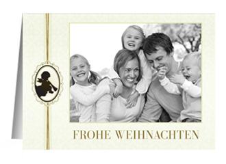 Weihnachtskarte Angel Greetings (Klappkarten DI...