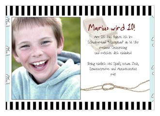 Einladung Kindergeburtstag Piraten 1 (Postkarte...