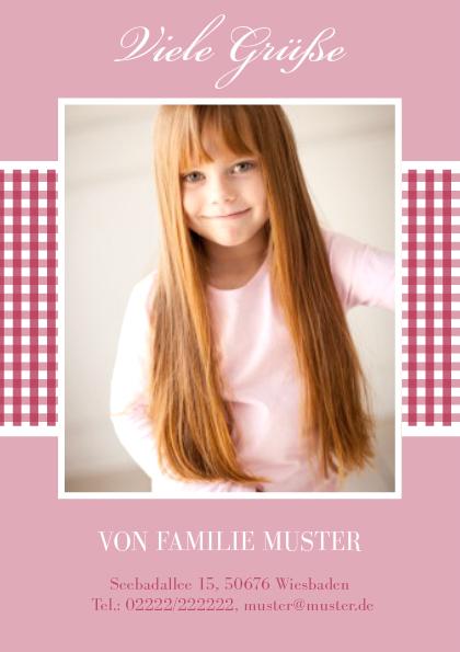 Grußkarte Luisa (Postkarten DIN A5 hoch)