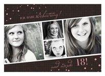Einladung 18. Geburtstag
