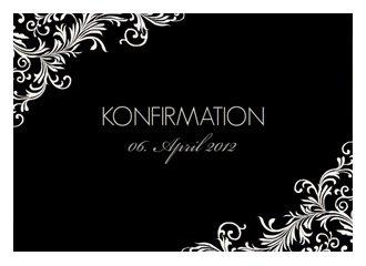 Einladungskarte Konfirmation Elizabeth 2