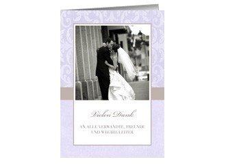 Danksagungskarte Hochzeit Lilia