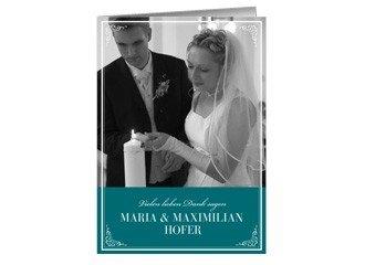 Danksagungskarte Hochzeit Leonore