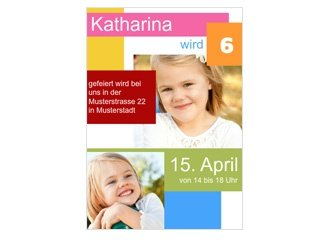 Einladung Kindergeburtstag On the Blocks