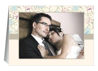 Danksagungskarte Hochzeit Pink Blossom
