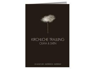 Kirchenheft Hochzeit Tree Tale