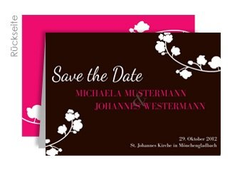 Save the Date Orchidee
