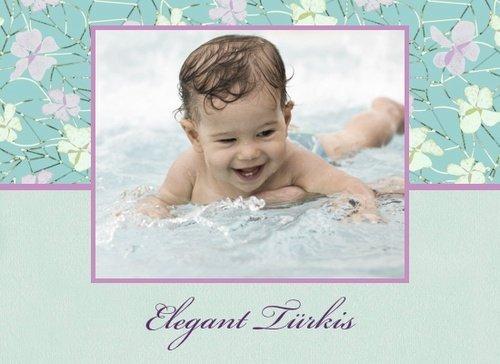 Fotobuch Jungen Elegant Türkis