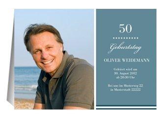 Einladung 50. Geburtstag Big B