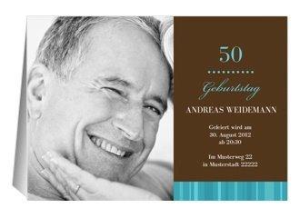 Einladung 50. Geburtstag Chico