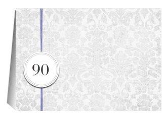 Einladung 90. Geburtstag Lila Grey