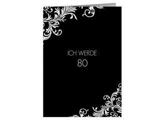 Einladung 80. Geburtstag Elizabeth