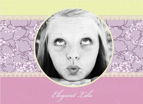 Fotobuch Elegant Lila