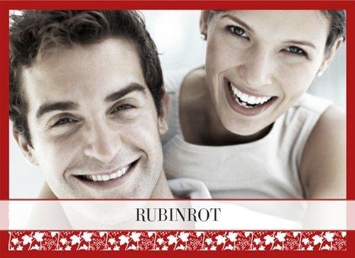 Klassisches Fotobuch Rubinrot