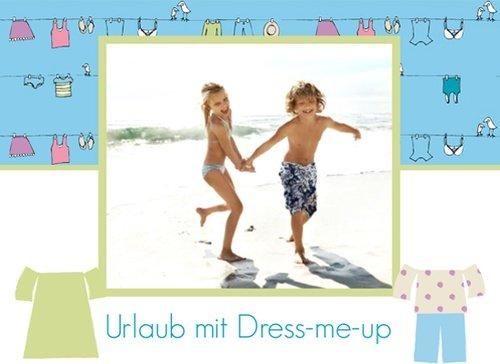 Fotobuch Urlaub Dress me up