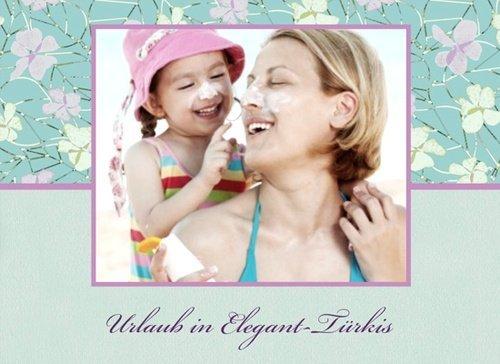 Fotobuch Urlaub Elegant Türkis