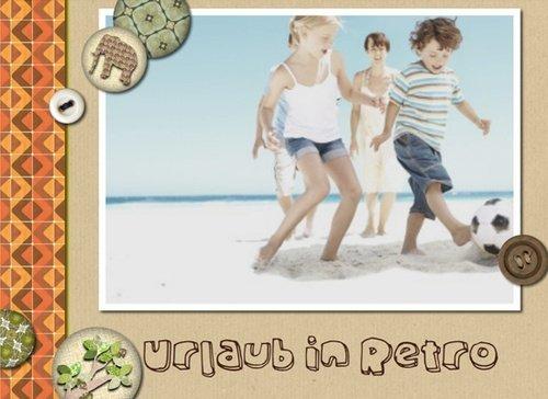 Fotobuch Urlaub Retro