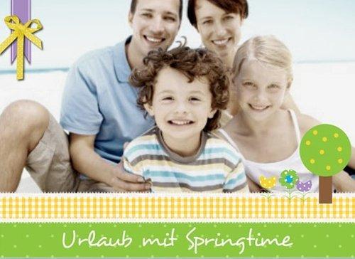 Fotobuch Urlaub Springtime