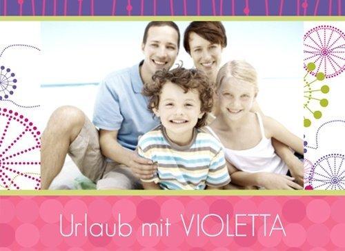 Fotobuch Urlaub Violetta