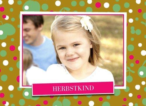 Fotobuch für Kinder Herbstkind