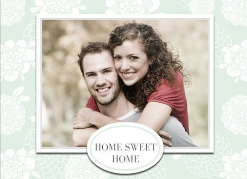 Fotobuch romantische Designs mit Home Sweet Home