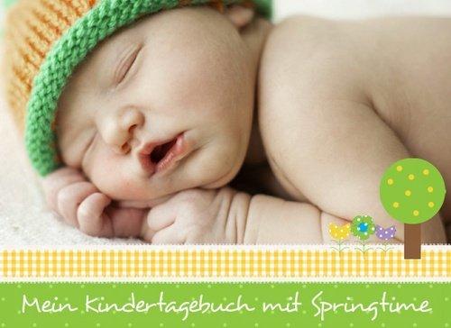 Fotobuch als Kindertagebuch Springtime