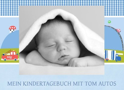 Fotobuch als Kindertagebuch Tom Autos