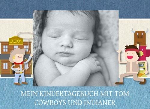 Fotobuch als Kindertagebuch Tom Cowboy & Indianer