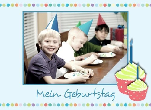 Fotobuch Geburtstag Bellablue
