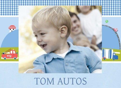 Fotobuch Jungen Tom Autos