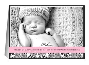Geburtsanzeige Helena