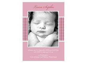 Geburtsanzeige Luisa