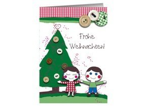 Weihnachtskarte Countrykids Greetings