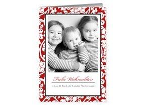 Weihnachtskarte Red Ornament