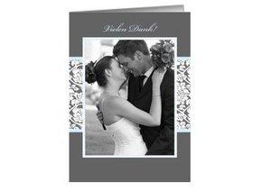 Danksagungskarte Hochzeit Greyling