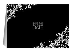 Save the Date Elizabeth 2