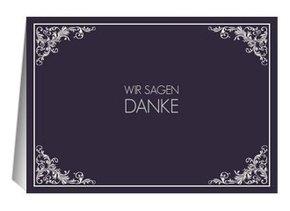 Danksagungskarte Hochzeit Marlene 2