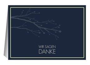 Danksagungskarte Hochzeit William 2
