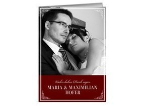 Danksagungskarte Hochzeit Loretta