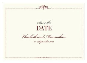 Save the Date Royal