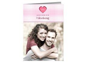 Karte zum Valentinstag Valentina 1