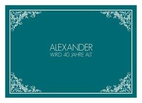 Einladungskarte Geburtstag Leonore 1