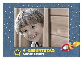 Einladung Kindergeburtstag Astronaut