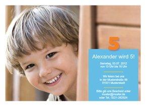 Einladung Kindergeburtstag Alex